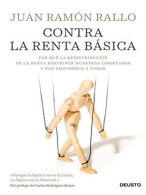 cover image of Contra la renta básica