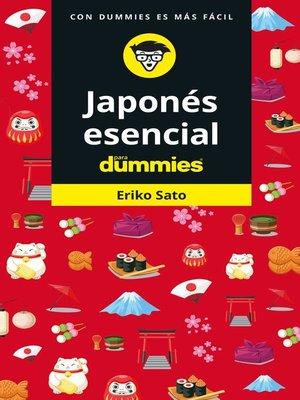 cover image of Japonés esencial para Dummies