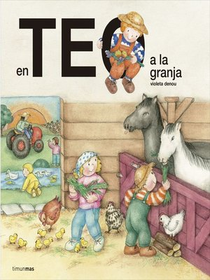 cover image of En Teo a la granja