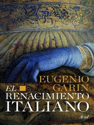 cover image of El renacimiento italiano