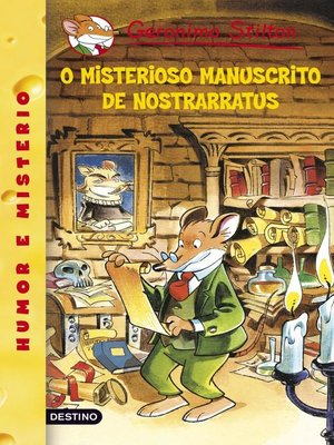 cover image of O misterioso manuscrito da Nostrarratus