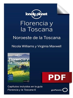 cover image of Florencia y la Toscana 6. Noroeste de la Toscana