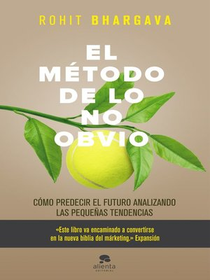 cover image of El método de lo no obvio