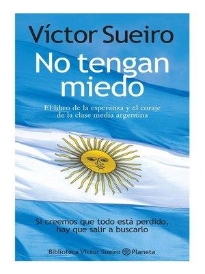 cover image of No tengan miedo
