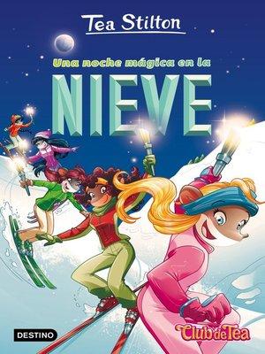 cover image of Una noche mágica en la nieve