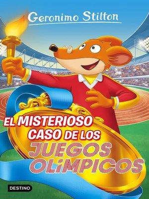 cover image of El misterioso caso de los Juegos Olímpicos