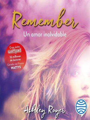 cover image of Remember. Un amor inolvidable