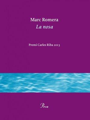 cover image of La nosa
