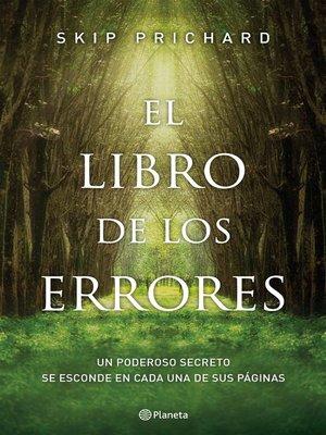 cover image of El libro de los errores