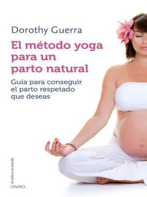 cover image of El método yoga para un parto natural
