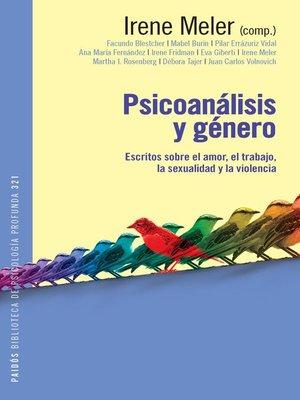 cover image of Psicoanálisis y género