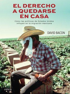 cover image of El derecho a quedarse en casa