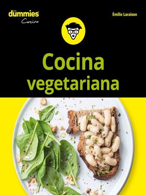 cover image of Cocina vegetariana para Dummies