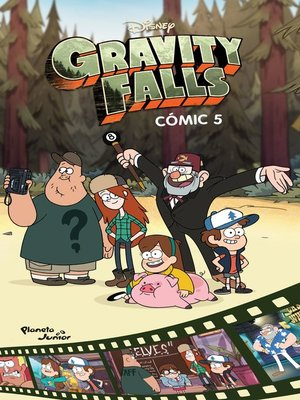 cover image of Gravity Falls. Cómic 5