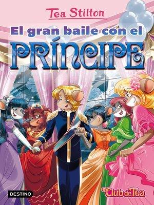 cover image of El gran baile con el príncipe