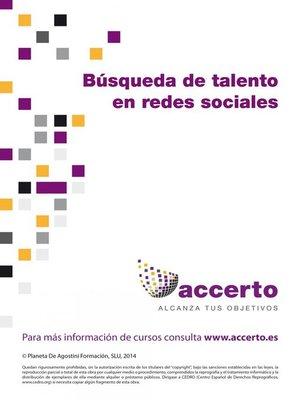 cover image of Búsqueda de talento en las redes sociales