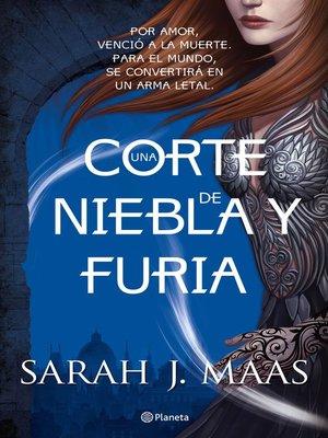 cover image of Una corte de niebla y furia