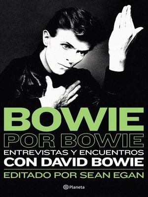 cover image of Bowie por Bowie
