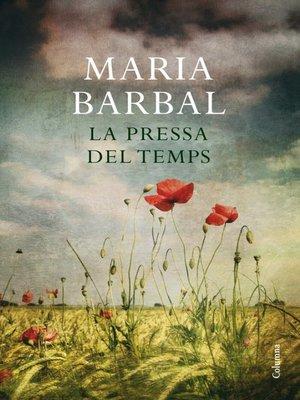cover image of La pressa del temps