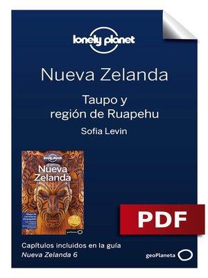 cover image of Nueva Zelanda 6_6. Taupo y región de Ruapehu