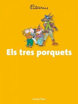 cover image of Els tres porquets