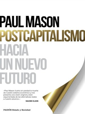 cover image of Postcapitalismo