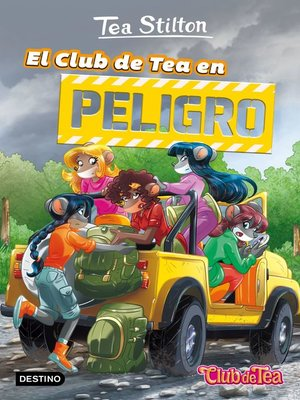 cover image of El Club de Tea en peligro