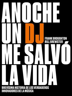 cover image of Anoche un DJ me salvó la vida