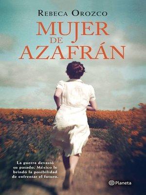 cover image of Mujer de azafrán