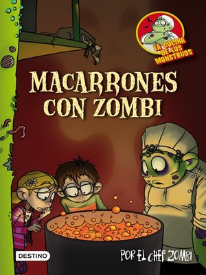 cover image of Macarrones con zombi