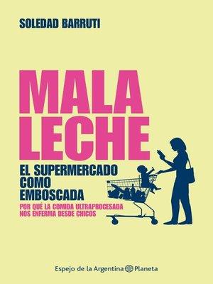 cover image of Mala leche