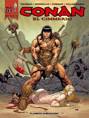 cover image of Conan el cimmerio nº 01/17