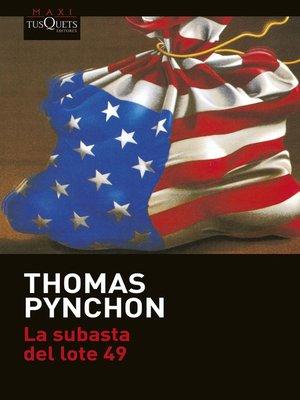 cover image of La subasta del lote 49