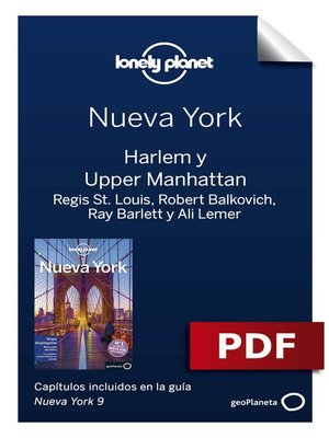 cover image of Nueva York 9_10. Harlem y Upper Manhattan