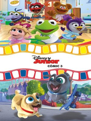 cover image of Disney Junior. Cómic 3