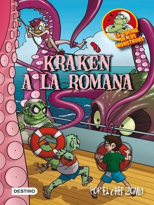 cover image of Kraken a la romana