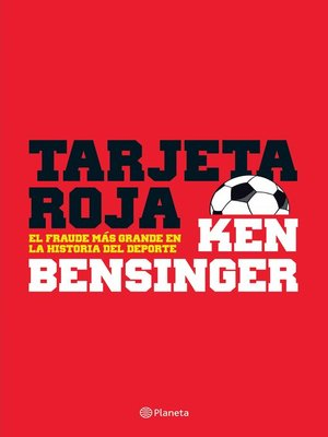 cover image of Tarjeta roja
