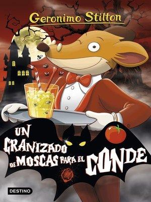 cover image of Un granizado de moscas para el conde