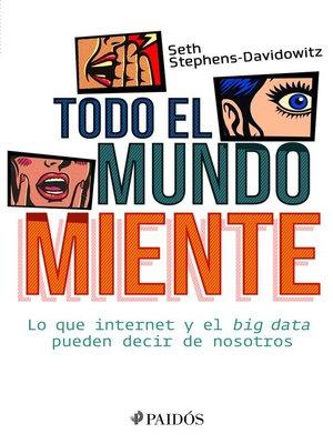 cover image of Todo el mundo miente