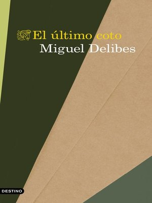 cover image of El último coto