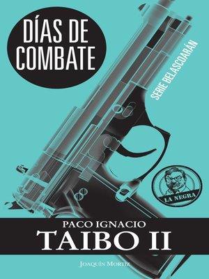cover image of Días de combate