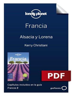 cover image of Francia 8_8. Alsacia y Lorena