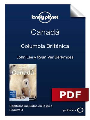 cover image of Canadá 4. Columbia Británica