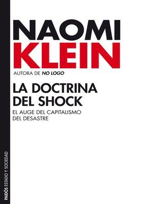 cover image of La doctrina del shock