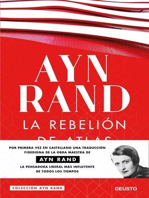 cover image of La rebelión de Atlas