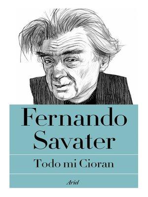 cover image of Todo mi Cioran