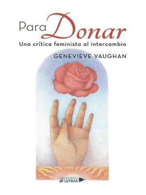 cover image of Para Donar