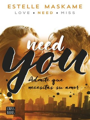 cover image of You 2. Need you