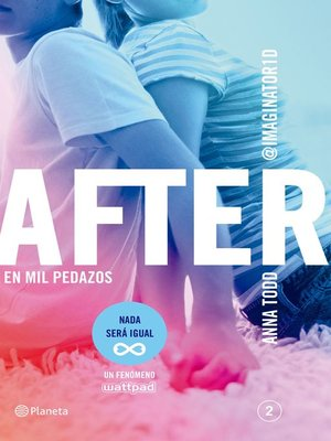 cover image of After. En mil pedazos (Serie After 2) Edición colombiana