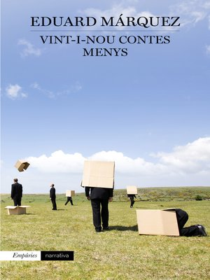cover image of Vint-i-nou contes menys
